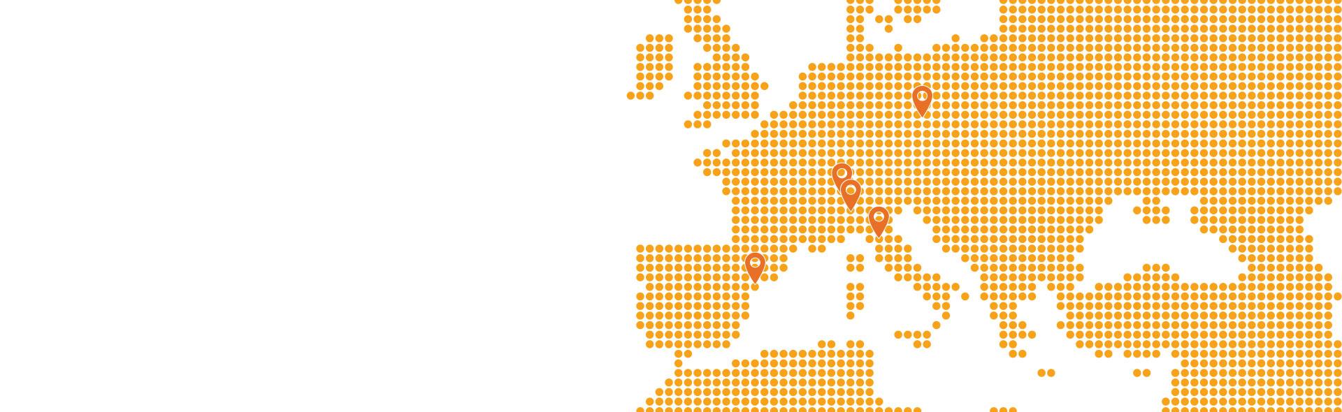 4 agencias en Europa