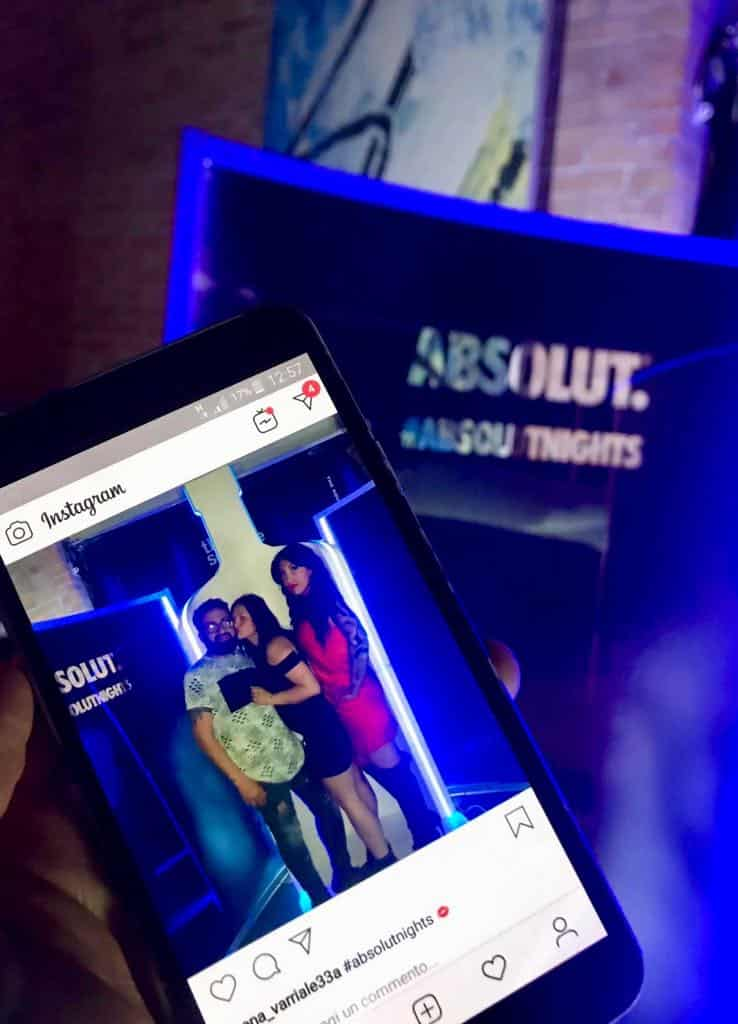photo box con absolute