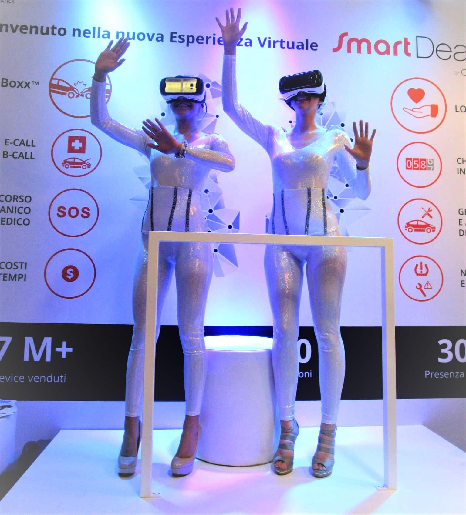 Digital device and augmented reality - Hostesses and promoters