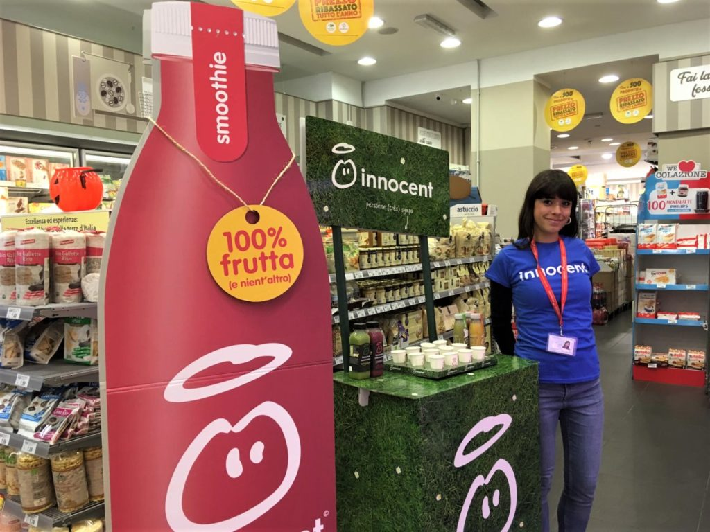 Promoter con Haccp Instore Promotion