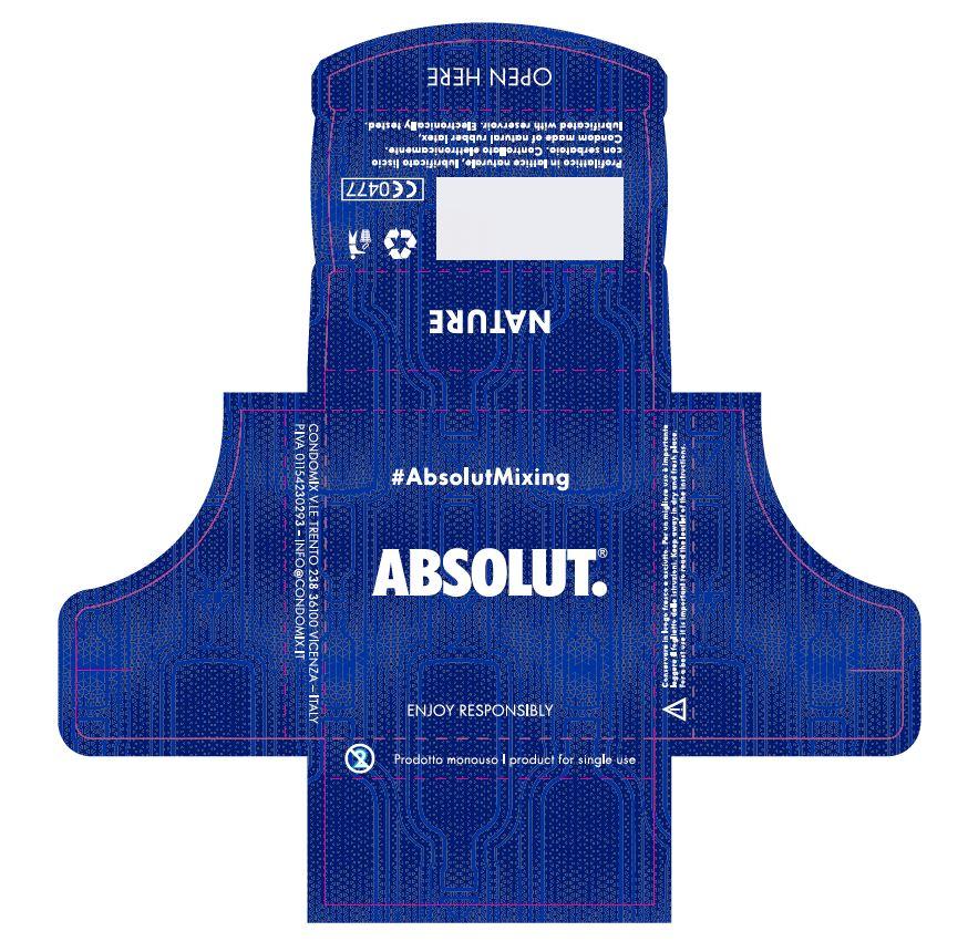 Condom firmato Absolut